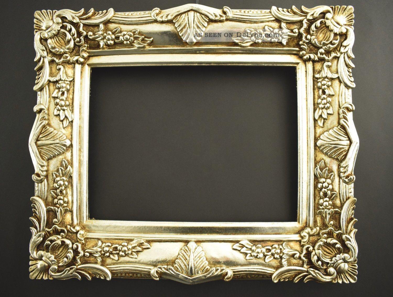 Barock Bilderrahmen 60 X 50 Cm / 30 X 40 Cm Gold Gemälde Rahmen ...