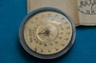 Rarität Dr.  Rudolf Rüter Sonnenuhr Kompass Berlin 1945/1946 Mit Beschreibung Bild