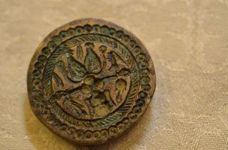 Altes Ausgefallenes Bronze Siegel Um 1900 Bild