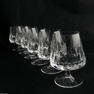 Nachtmann Cognacgläser Helena 6 Vintage Kristall Gläser Toll Erhalten Bild