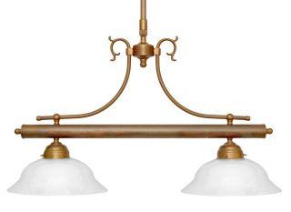 Wunderschöne Messing Landhaus Deckenlampe Messingleuchte Berlin Jugendstil Bild