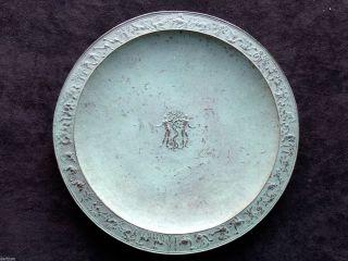 Fritz Nuss 1907 - 1999 Bronze Reliefteller Adam Und Eva - Signiert Und Datiert 1947 Bild