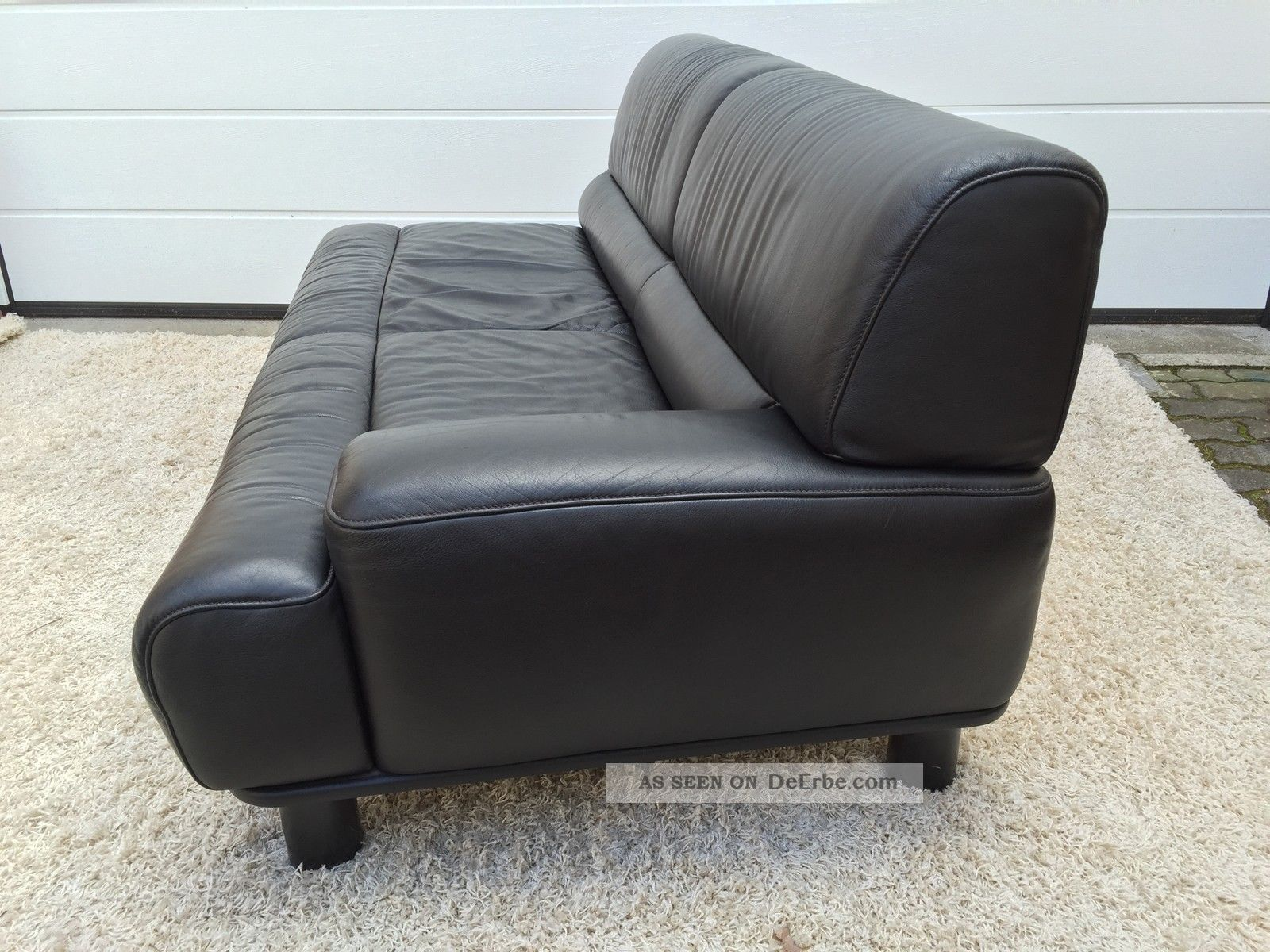 Lounge Sofa Daybed Liege De Sede Ds 18 Leder Leather Ära Kill 80 47 76 88 Chair 1970-1979 Bild