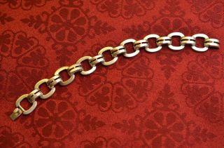 Altes Seltenes Silberfarbenes Wmf Ikora Damenarmband Bild