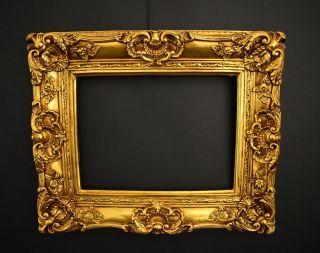 Prunk Bilderrahmen 60 X 50 Cm / 30 X 40 Cm Gold Gemälde Rahmen Barockrahmen Bild