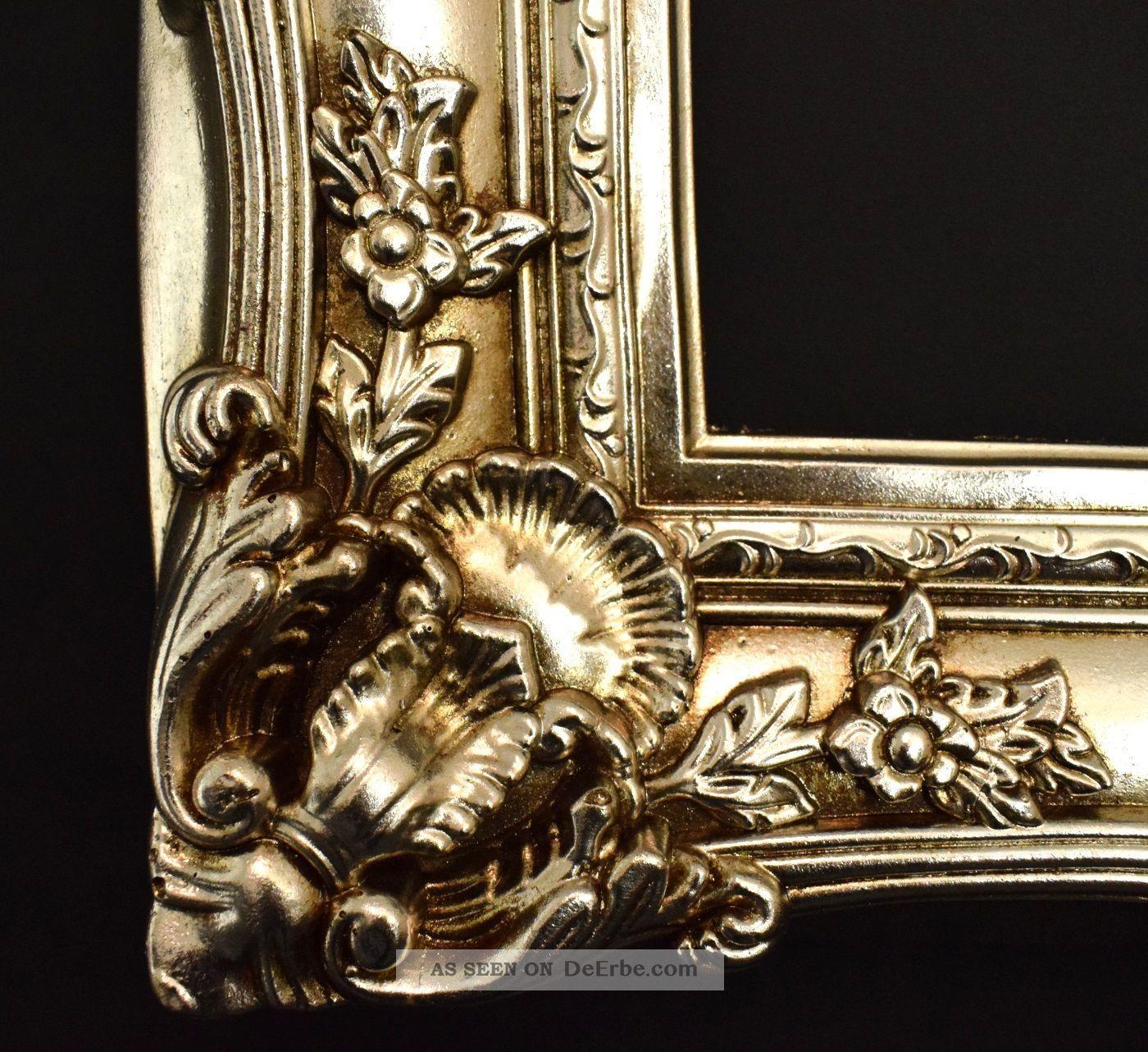 bilderrahmen barock rokoko stil 40 x 50 cm 60x70 cm silber vintage barockrahmen. Black Bedroom Furniture Sets. Home Design Ideas