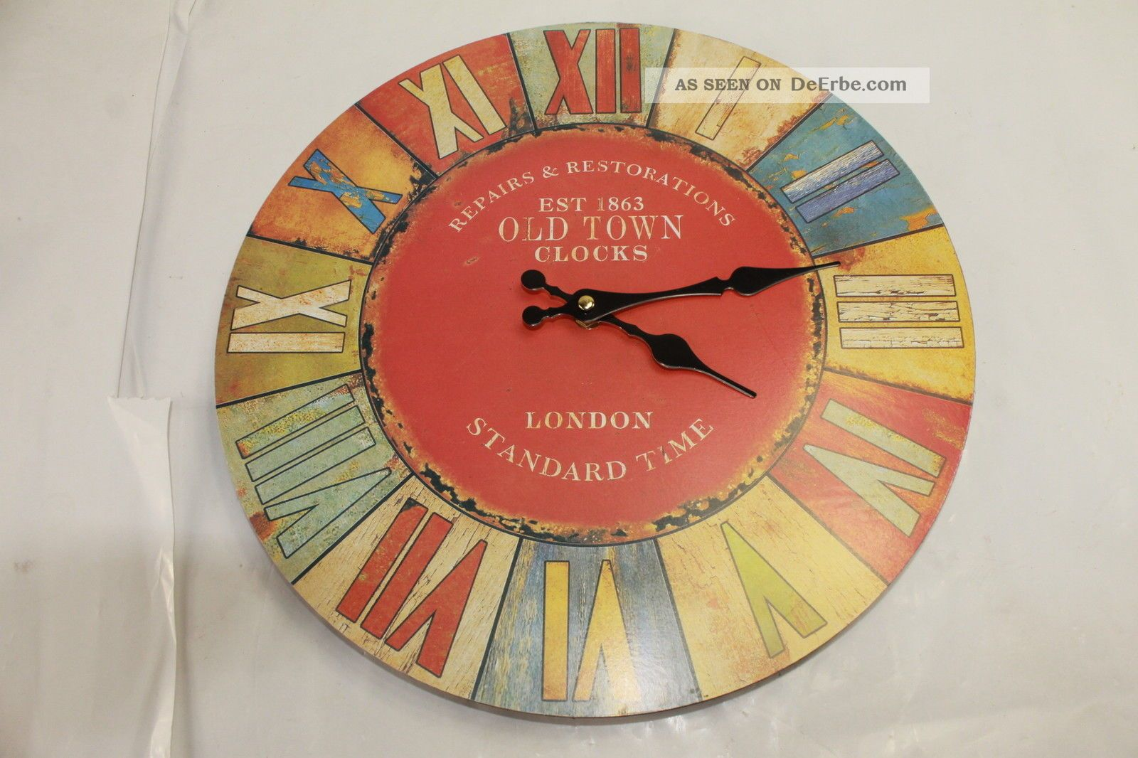 Wall Clock - London Old Town 74 Gefertigt nach 1950 Bild