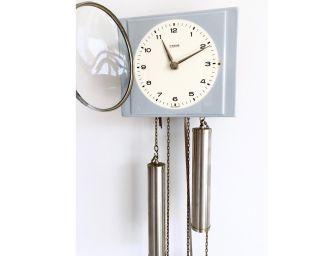 Schöne Alte Pendeluhr Wanduhr Kienzle Schlagwerk Küchenuhr D.  Uhrmacher überholt Bild