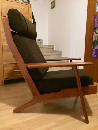 Wegner Getama High Back Sessel 60er Teak Bild