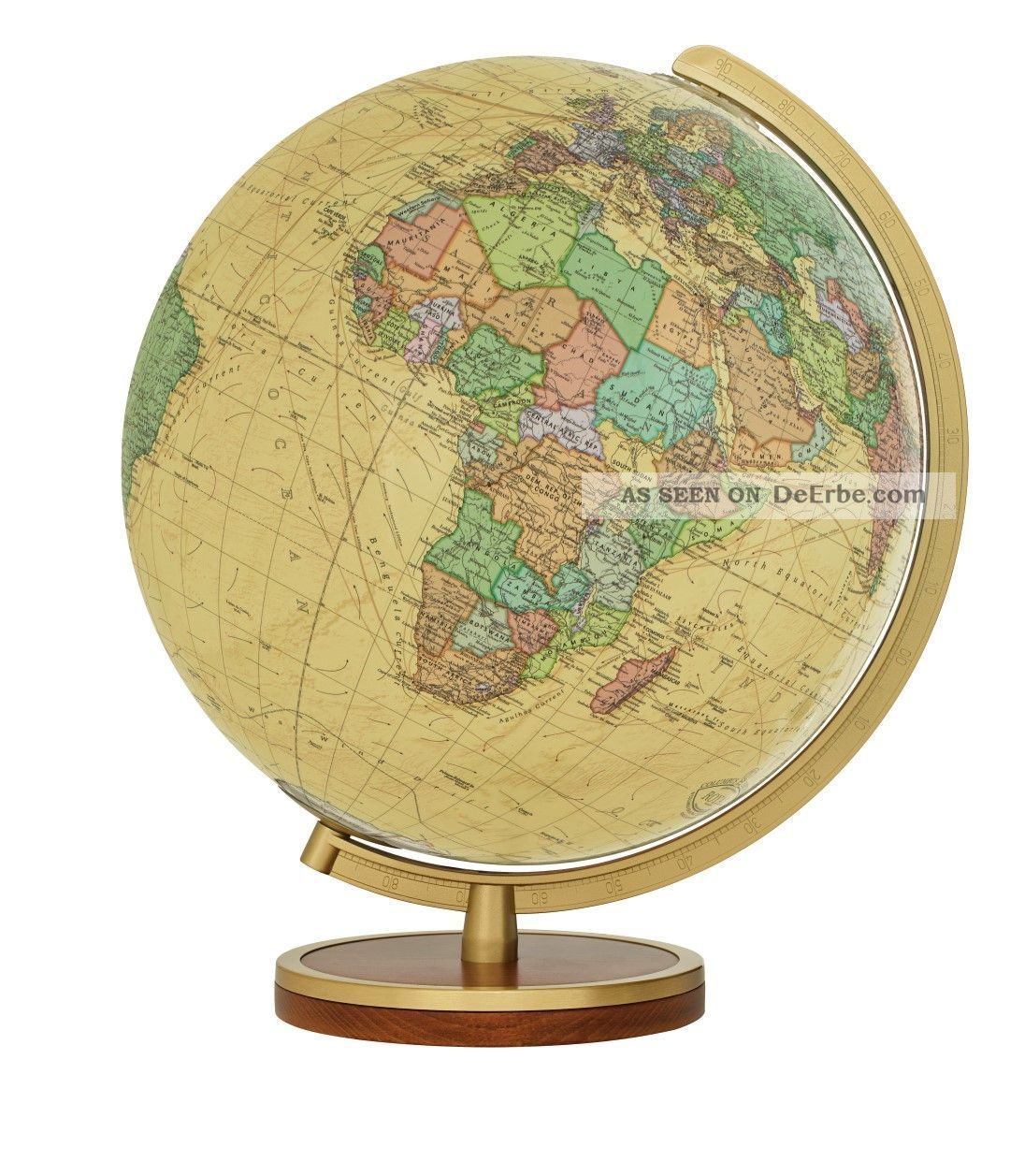 Tischglobus T223453 Columbus Royal 34 Cm Leuchtglobus Antik Globus Globe Wissenschaftliche Instrumente Bild