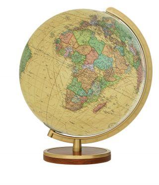 Tischglobus T223453 Columbus Royal 34 Cm Leuchtglobus Antik Globus Globe Bild