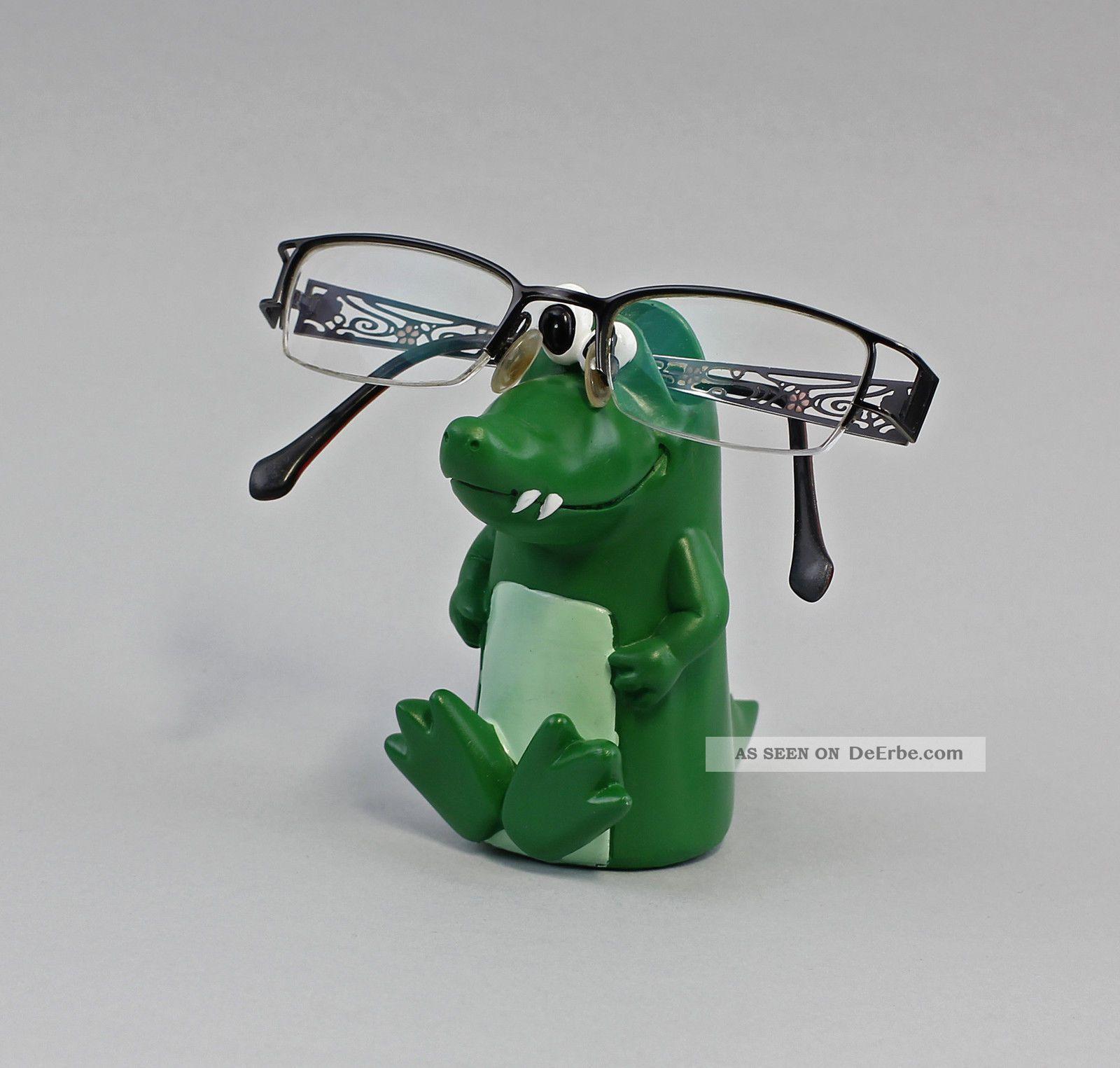36113 Brillen - Ständer/ - Halter Brillenhalter Karikative Figur Krokodil Ab 2000 Bild