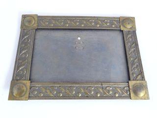 Antiker Jugendstil Bilderrahmen Aus Metall Bilder Rahmen Picture Frame Bild