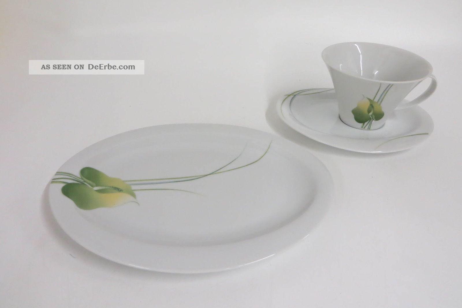 Sammelgedeck Kaffeegedeck Seltmann Weiden Hyde Park / Ovale Form Nach Form & Funktion Bild