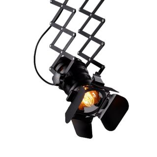 Retro Industrial Camera Scherenlampe Hängelampe Inkl.  Leuchtmittel Bild