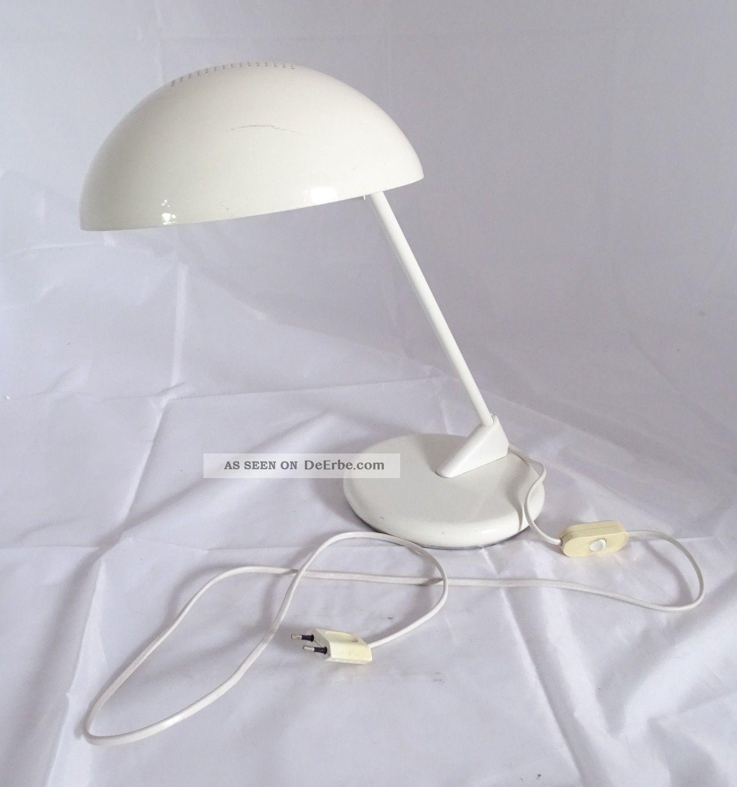 Vintage Panton Ära Shabby Chic Seneca Italian Design Tisch Lampe 1970-1979 Bild