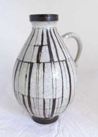 Große 50/60er Jahre Stand Vase Keramik Tolles Design 227 - 55 Made In West Germany Bild