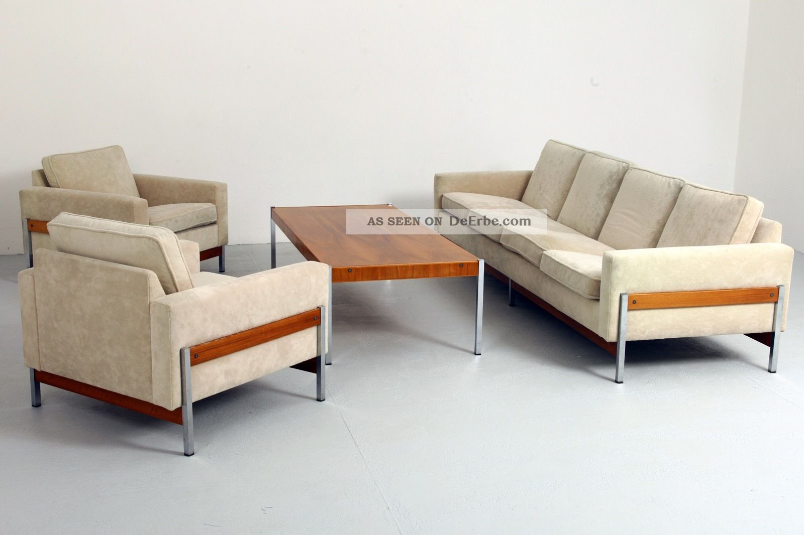 International Style Sofa Garnitur 1960's Modernism - Florence Knoll Behr ära 1960-1969 Bild
