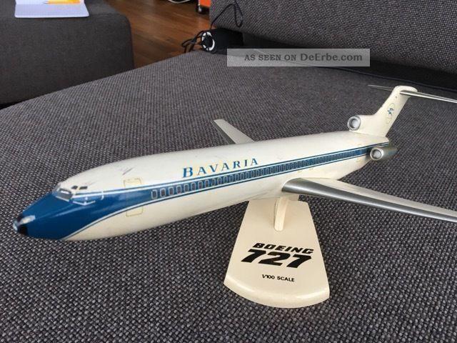 Seltenes Modell Bavaria Fluggesellschaft B727 - Sammlerstück Modellbau Bild