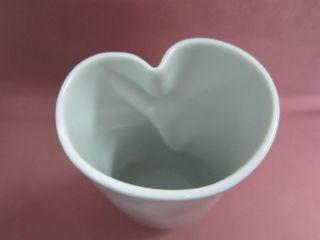 Meissen Vase Tischvase Porzellanvase H 20 Cm Weiß 1.  Wahl Weifs Porzellan 15745 Bild