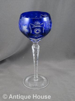 Nachtmann Römer Weinglas Blau Bild