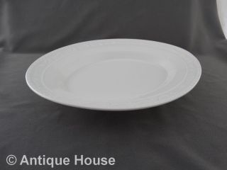 Kpm Berlin Kurland Weiß Ovale Platte Fleischplatte 33,  5 Cm Bild