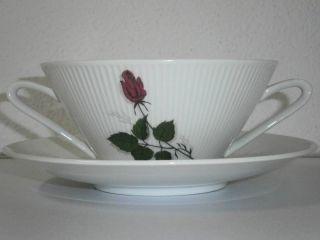 Winterling - Suppentasse Mit Untertasse - Rosendekor Bild