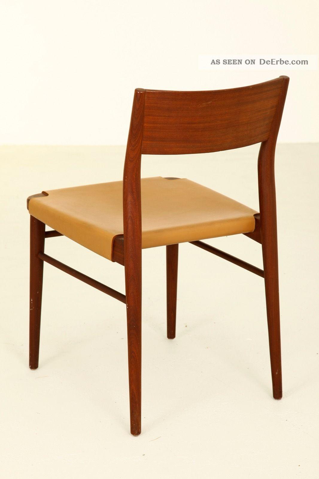 georg leowald teak chair modell 351 bauhaus deutscher werbund ulmer schule 1955. Black Bedroom Furniture Sets. Home Design Ideas