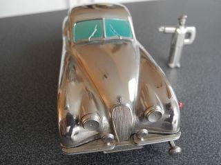 PrÄmeta Jaguar Xk 120 Postel Sondermodell Von 1955.  Metallsockel - Gute Fahrt Bild