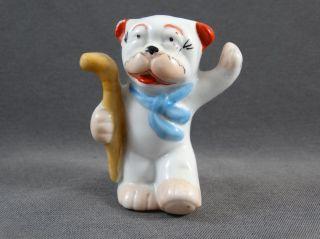 Alter Salzstreuer Figur Hund Modell 7244 Bild