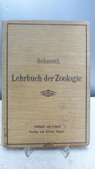 Lehrbuch Der Zoologie Von 1904 - Schmeil - Tolle Abbildungen - Bild