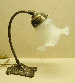 Tischlampe Mit Kippgelenk Jugendtsil Art Deco Bild
