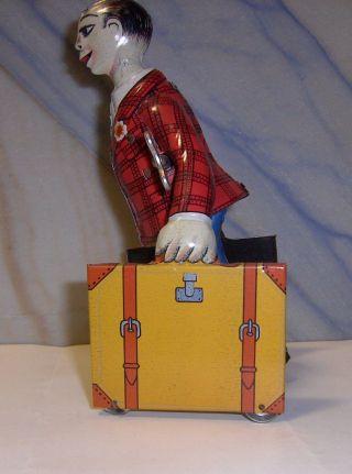 Kofferträger Figur Selbstlaufend Blech Zum Aufziehen Juguetes? Ptoy? Rarität Rar Bild