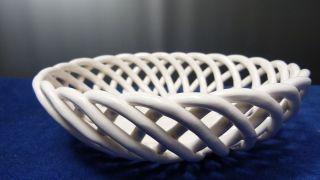 Vintage Schale Keramik - Obstschale - Durchmesser 17 Cm - Aus Nachlass Bild