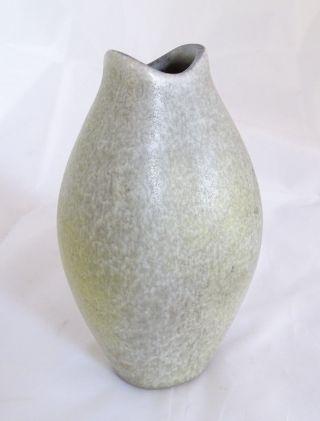 Karlsruher Majolika Organisch Design Fischmaulvase Vase Modell Nr.  6179 Keramik Bild