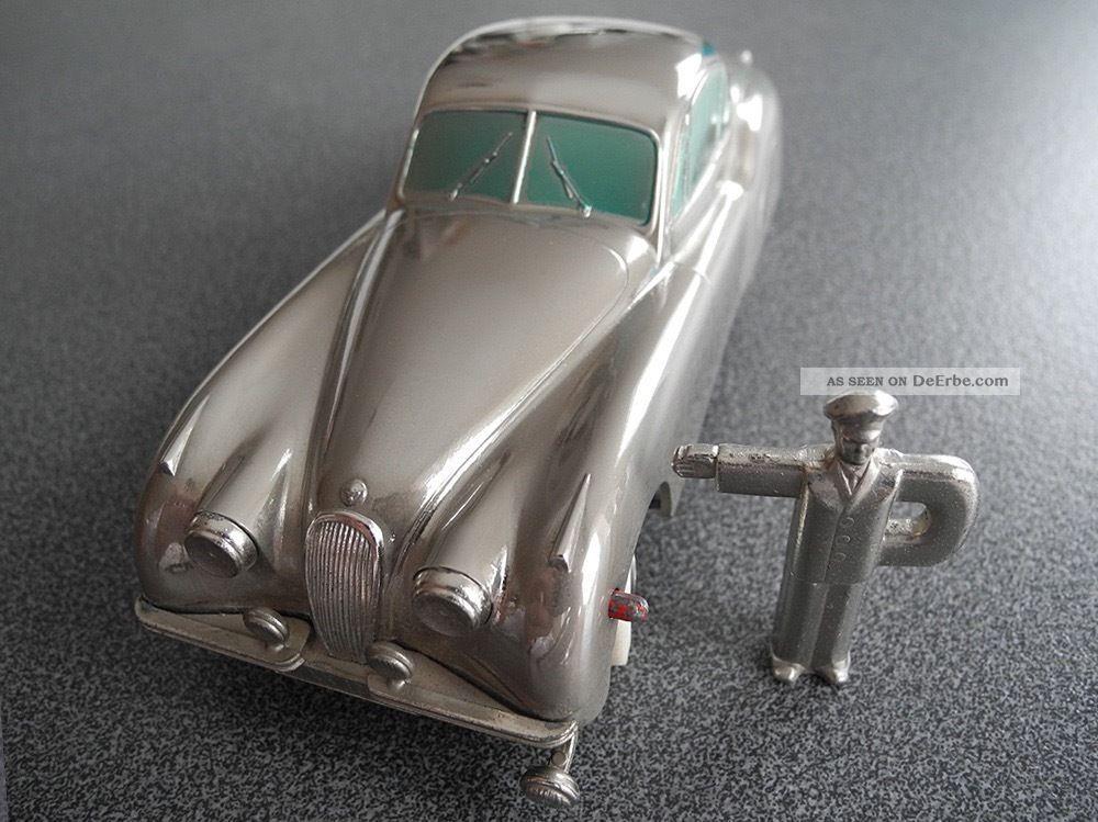 PrÄmeta Jaguar Xk 120 Postel Sondermodell Von 1955.  Gute Fahrt Original, gefertigt 1945-1970 Bild