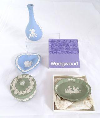 Wedgwood Jasper Konvolut 4 Teile Englische Keramik Raritäten Bild