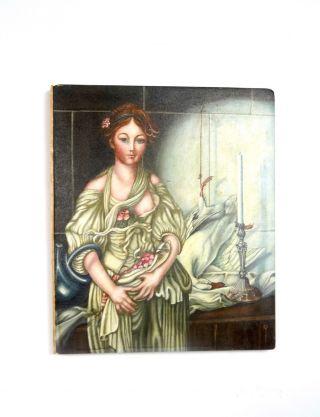 Jugendstil Impressionismus GemÄlde Frau In KÜche Frankreich 1905 Antik Bild Bild
