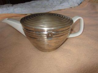 Wmf Bienenkorb Isolier Tee Kanne 1,  2l Bauscher Porzellan Thermisol 30er 40er Bild