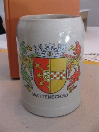 Sammler - Bierkrug 0,  5 L Aus Wattenscheid Keramik Steingut Bild