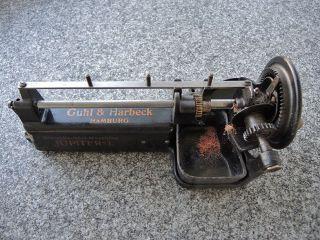 Guhl & Harbeck Jupiter 1 – Spitzmaschine Mit Einem Ersatzfräser Bild