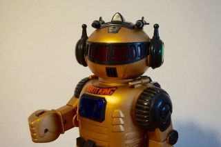 Roboter Robot King Figur Retro Vintage Design 80er Rar Bild