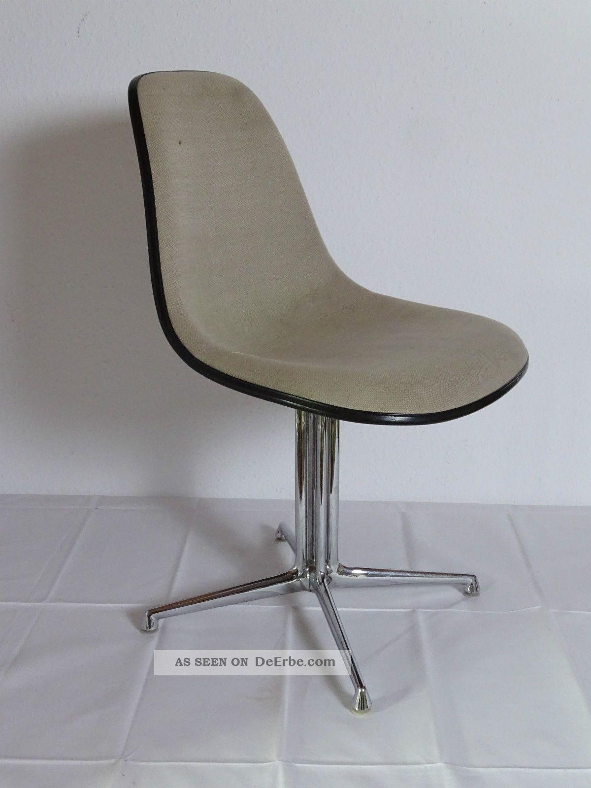 La Fonda Chair Herman Miller Vitra Charles - Ray Eames Gestell Base Verchromt 1960-1969 Bild