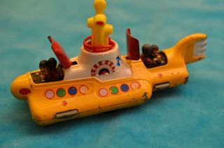 Corgi Toys U - Boot The Beatles Hello Submarine Bild