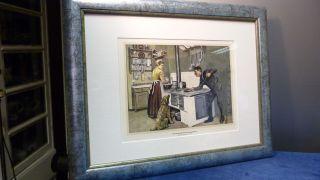 Antiker Kupferstich - Schornsteinfeger Bei Reinigungsarbeiten - Kleehaas 1897 Bild