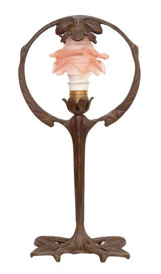 Klassische Jugendstil Tischlampe