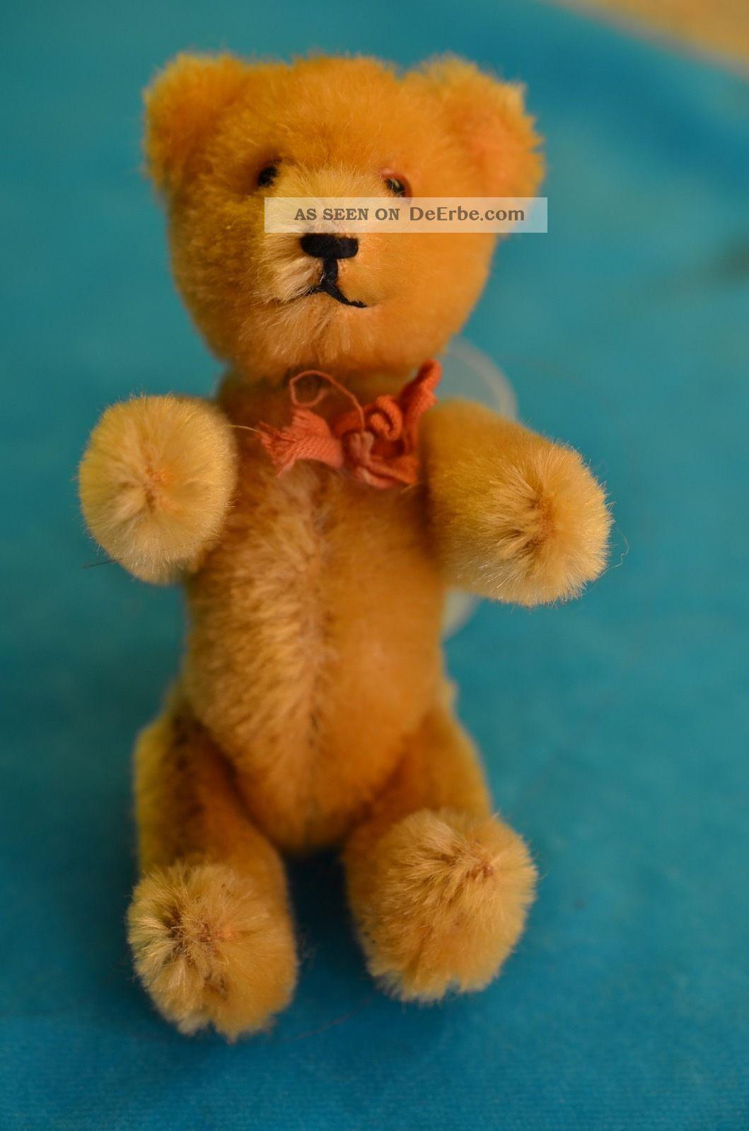 Alter Schuco Teddy Tricky Mit Mechanik 50er Jahre Stofftiere & Teddybären Bild