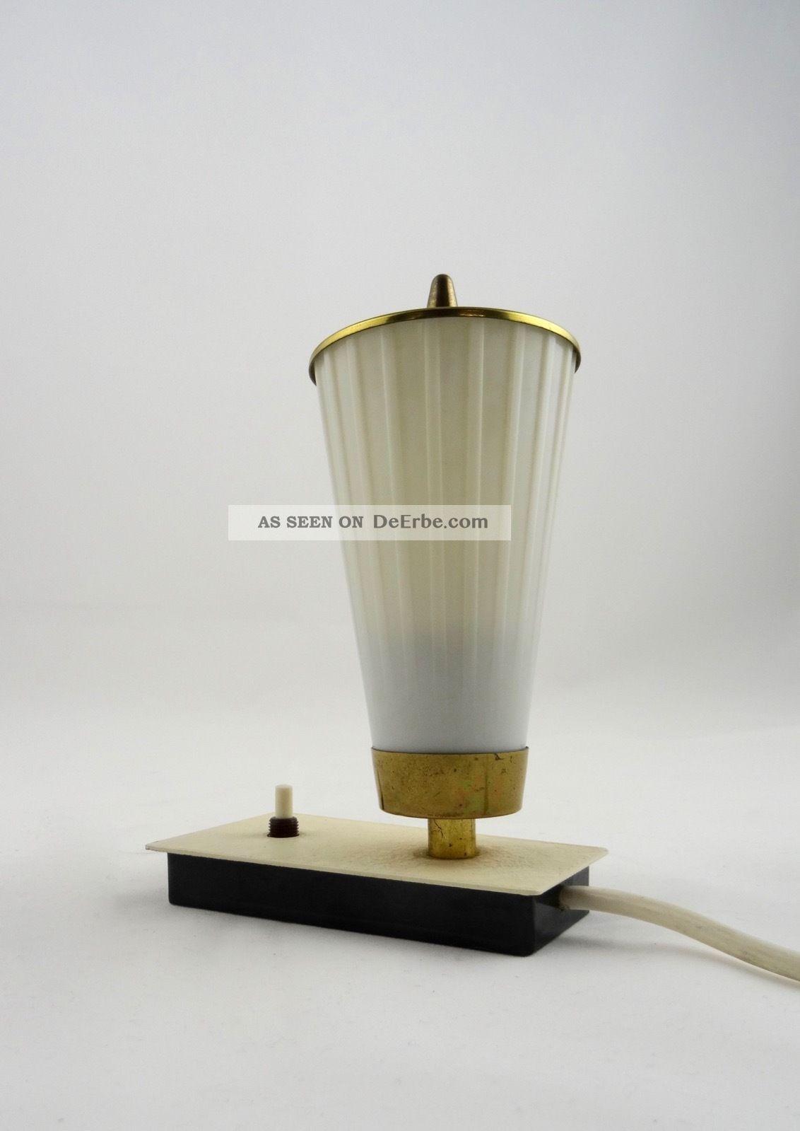 Vintage 50er Design Tischlampe Laterne Stilnovo Zeit Mid Century Leuchte 60er 1960-1969 Bild