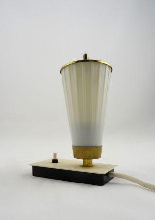 Vintage 50er Design Tischlampe Laterne Stilnovo Zeit Mid Century Leuchte 60er Bild
