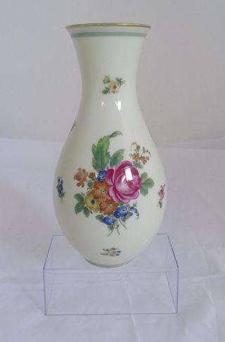 Thomas Ivory Bavaria Porzellan Vase Blumen Dekor 072 81 Höhe 24 Cm Bild